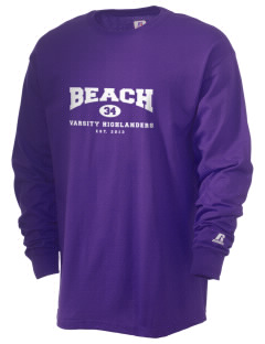 Beach Elementary School Highlanders  Russell Men's Long Sleeve T-Shirt