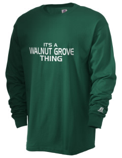 Walnut Grove Elementary School Roadrunners  Russell Men's Long Sleeve T-Shirt