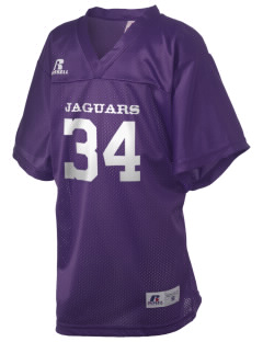Jefferson Elementary School Jaguars Russell Kid's Replica Football Jersey