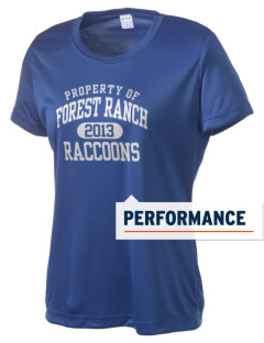 Forest Ranch Elementary School Raccoons Women's Competitor Performance T-Shirt