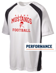 Alamo Elementary School Mustangs Men's Dry Zone Colorblock T-Shirt