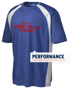 Stone Valley Middle School Pride Men's Dry Zone Colorblock T-Shirt