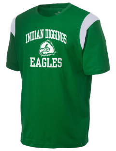 Indian Diggings Elementary School Eagles Holloway Men's Rush T-Shirt