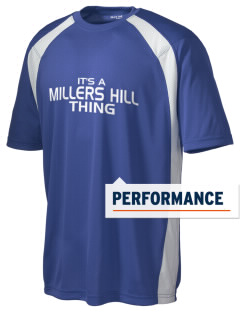 Millers Hill Middle School Hawks Men's Dry Zone Colorblock T-Shirt