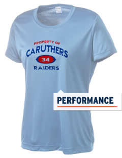 Caruthers High School Raiders Women's Competitor Performance T-Shirt