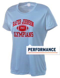 Rafer Johnson Junior High School Olympians Women's Competitor Performance T-Shirt