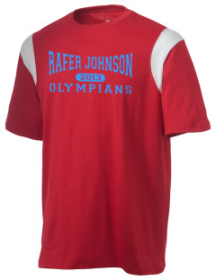 Rafer Johnson Junior High School Olympians Holloway Men's Rush T-Shirt