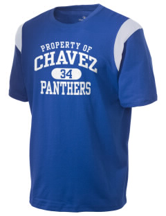 Chavez Elementary School Panthers Holloway Men's Rush T-Shirt