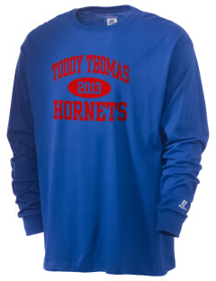 Toddy Thomas Elementary School Hornets  Russell Men's Long Sleeve T-Shirt