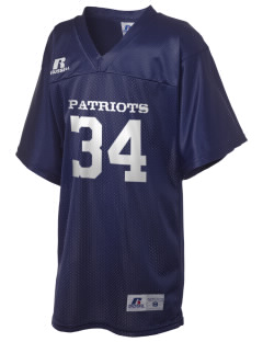 Jefferson Elementary School Patriots Russell Kid's Replica Football Jersey