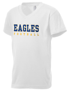 Leith Walk Elementary School Lanterns Kid's V-Neck Jersey T-Shirt