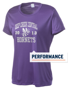 Deep Creek Central Elementary School Hornets Women's Competitor Performance T-Shirt
