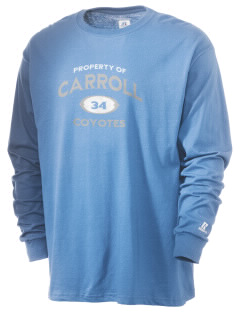 Carroll Elementary School Coyotes  Russell Men's Long Sleeve T-Shirt