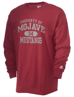 Mojave High School Mustangs  Russell Men's Long Sleeve T-Shirt
