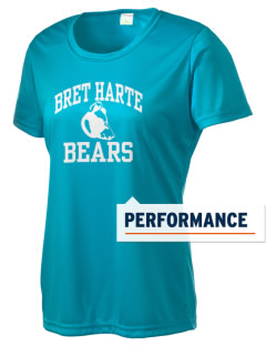 Bret Harte Elementary School Bears Women's Competitor Performance T-Shirt