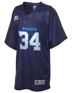 Bret Harte Elementary School Bears Russell Kid's Replica Football Jersey