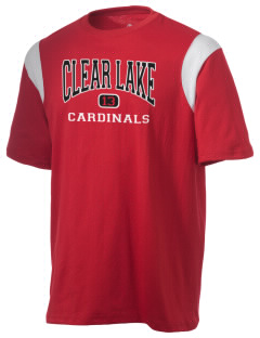 Clear Lake High School Cardinals Holloway Men's Rush T-Shirt