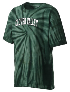 Clover Valley High School All Stars Kid's Tie-Dye T-Shirt