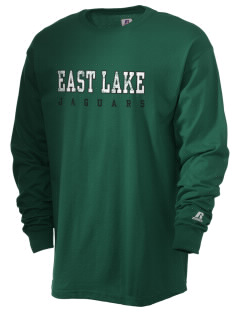 East Lake Elementary School Jaguars  Russell Men's Long Sleeve T-Shirt