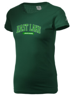 East Lake Elementary School Jaguars  Russell Women's Campus T-Shirt