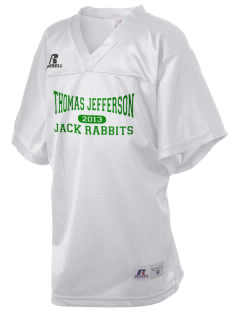 Thomas Jefferson Elementary School Jack Rabbits Russell Kid's Replica Football Jersey
