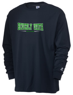 Beverly Vista Elementary School Bulldogs  Russell Men's Long Sleeve T-Shirt