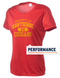 Hawthorne High School Cougars Women's Competitor Performance T-Shirt