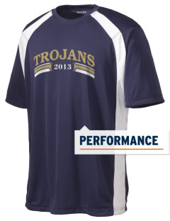 MOUNT UNION AREA jr.sr.HIGHSCHOOL TROJANS Men's Dry Zone Colorblock T-Shirt