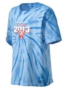 Cleminson Elementary School Panthers Kid's Tie-Dye T-Shirt