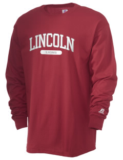 Lincoln Elementary School Lions  Russell Men's Long Sleeve T-Shirt