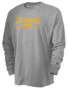 Calabasas High School Coyotes  Russell Men's Long Sleeve T-Shirt