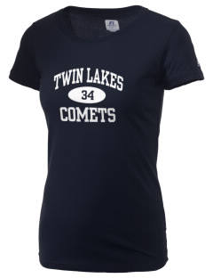 Twin Lakes Elementary School Comets  Russell Women's Campus T-Shirt