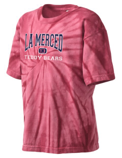 La Merced Elementary School Teddy Bears Kid's Tie-Dye T-Shirt