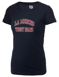 La Merced Elementary School Teddy Bears  Russell Women's Campus T-Shirt