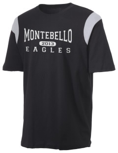 Montebello Intermediate School Eagles Holloway Men's Rush T-Shirt