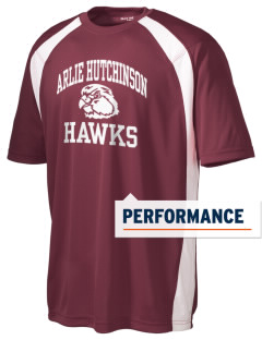 Arlie Hutchinson Middle School Hawks Men's Dry Zone Colorblock T-Shirt