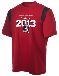 Hart High School Indians Holloway Men's Rush T-Shirt