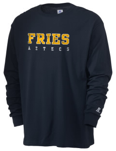 Fries Elementary School Aztecs  Russell Men's Long Sleeve T-Shirt