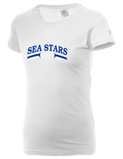 South Shores Magnet School Sea Stars  Russell Women's Campus T-Shirt