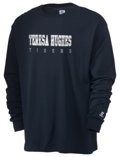 Teresa Hughes Elementary School Tigers  Russell Men's Long Sleeve T-Shirt
