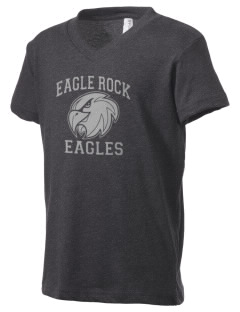 Eagle Rock High School Eagles Kid's V-Neck Jersey T-Shirt