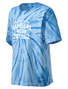 samoana high sharks Kid's Tie-Dye T-Shirt