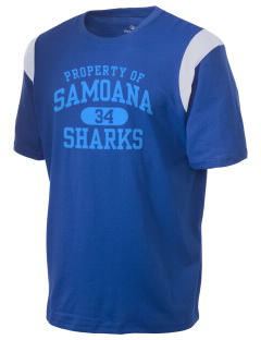 samoana high sharks Holloway Men's Rush T-Shirt
