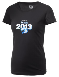 samoana high sharks  Russell Women's Campus T-Shirt