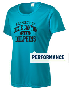 Dixie Canyon Elementary School Dolphins Women's Competitor Performance T-Shirt
