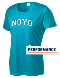 Noyo High School Mustangs Women's Competitor Performance T-Shirt