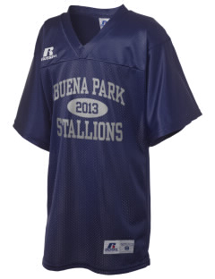 Buena Park Junior High School Stallions Russell Kid's Replica Football Jersey