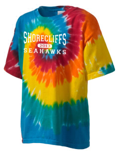 Shorecliffs Middle School Seahawks Kid's Tie-Dye T-Shirt