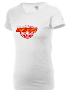 Samuel E Talbert Middle School Thunderbirds  Russell Women's Campus T-Shirt
