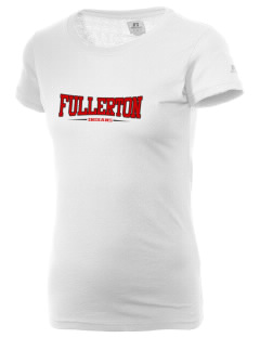 Fullerton High School Indians  Russell Women's Campus T-Shirt